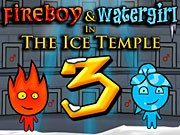 Play Fireboy and Watergirl Ice Temple Online