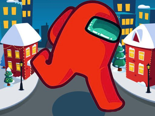 Play Among Us Christmas Run Online